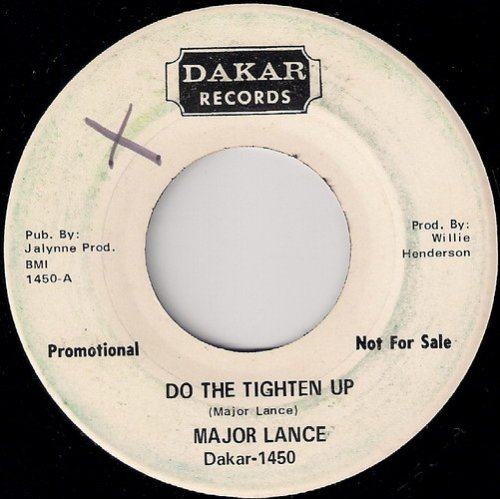 Major Lance ‎– Do The Tighten Up, Dakar 45