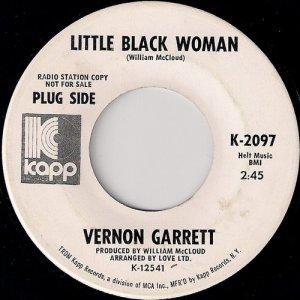 Vernon Garrett - Little Black Woman, Kapp 45