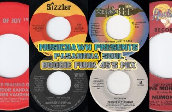 Musicdawn guest mix for Pasadena Soul