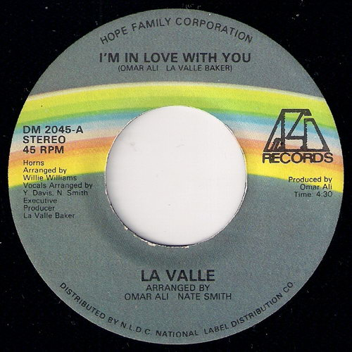 La Valle - I'm In Love With You, Ali 45