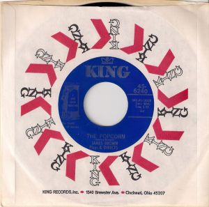 James Brown - The Popcorn, King 45 in CS