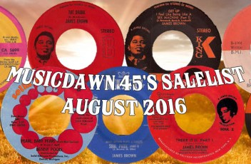 Musicdawn 45's Salelist August 2016