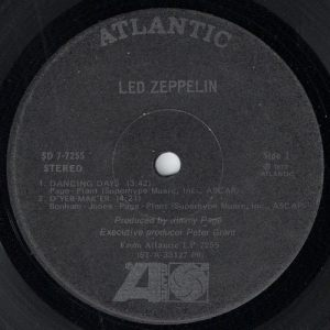 Led Zeppelin - Houses Of The Holy, Atlantic EP