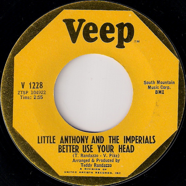 Little Anthony and the Imperials - Better Use Your Head [Veep]