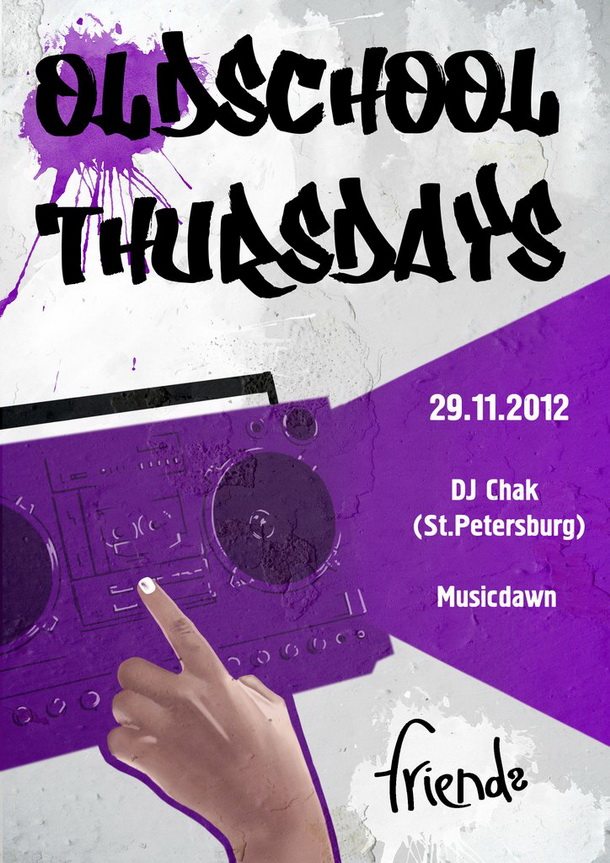 Oldschool Thursdays Dj Chak (St. Peterburg)