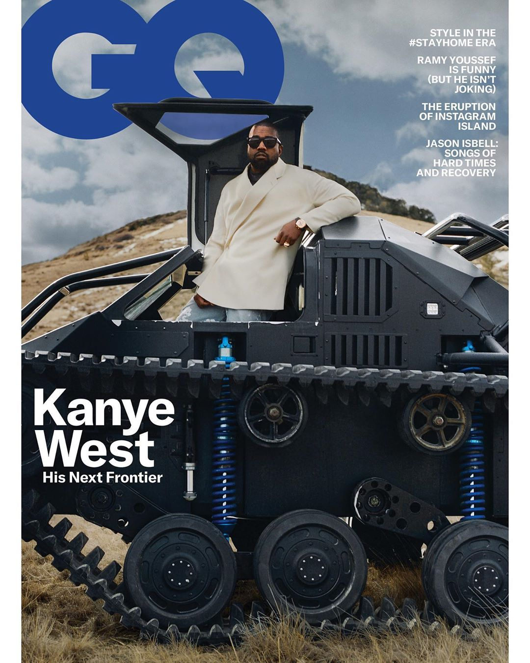 Kanye West is Letting Us Inside his Empire for the May Editon of GQ Magazine