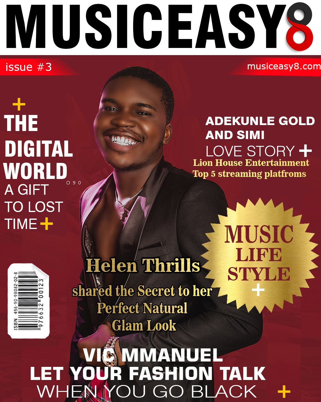 Vic mmanuel And Enaesigie Cover's Musiceasy8 May/June: A Gift to lost time Magaine Latest issue