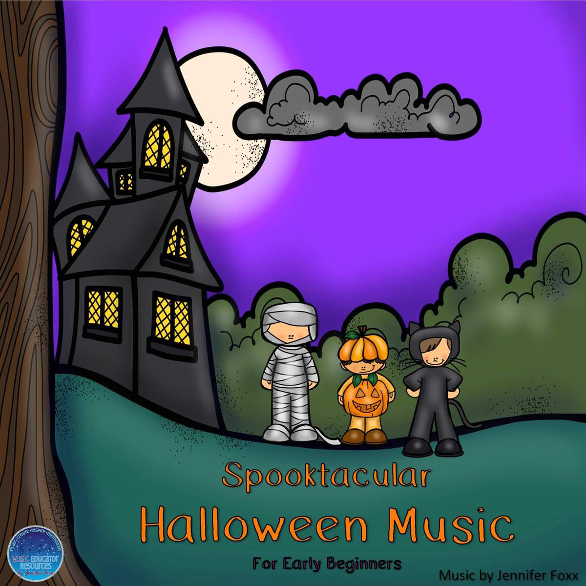 free halloween music - music educator resources