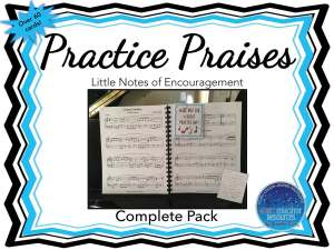 Practice Praise Cards