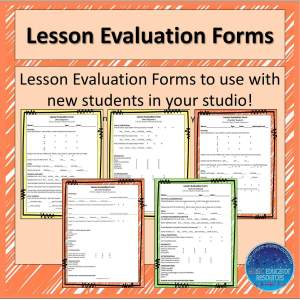 Music Teacher Tip #20 Part 1: Early Childhood Introductory Lesson Evaluations