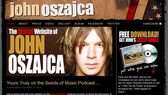 John Oszajca's Website