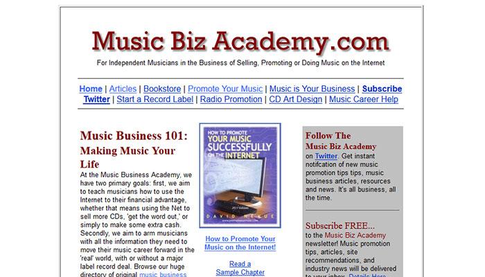 Music Biz Academy