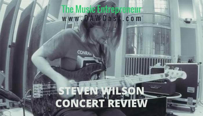 Steven Wilson at MacEwan Hall on June 23, 2015 Concert Review