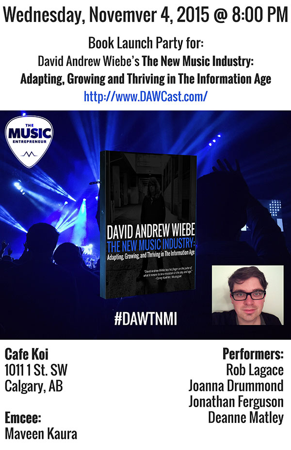 Book Launch Party: The New Music Industry