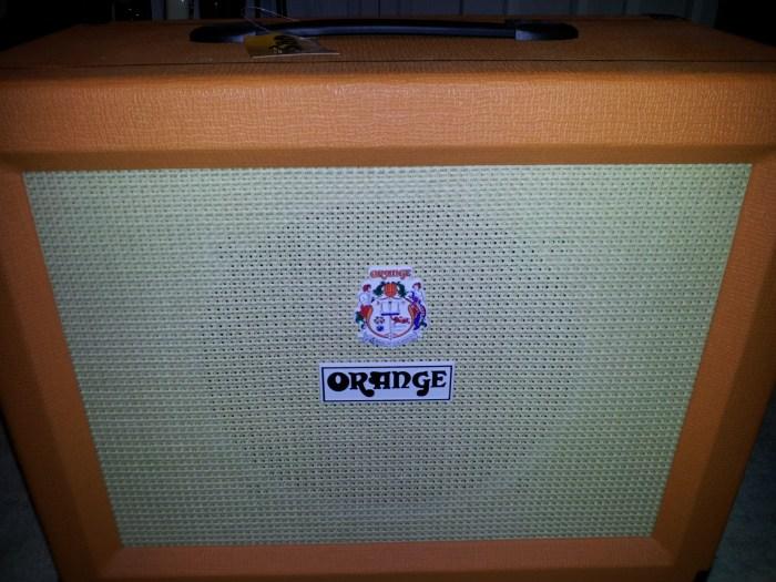 Orange PPC112 guitar cabinet