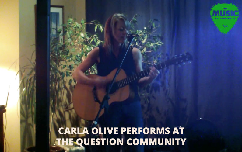 Carla Olive Performs at The Question Community