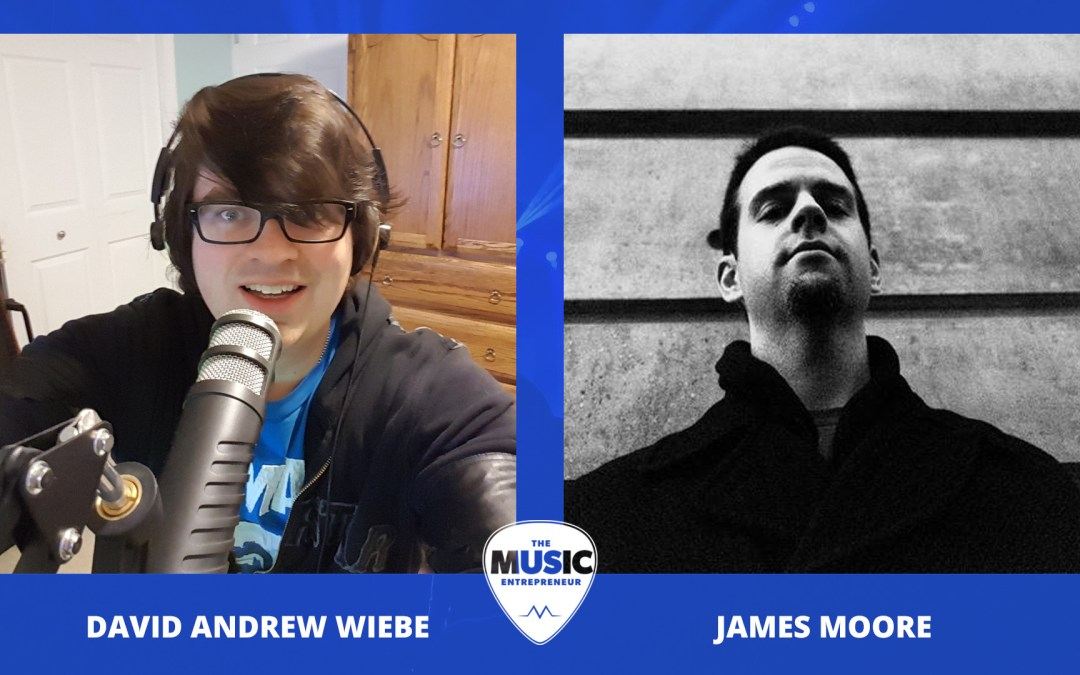 002 – Writing and Promoting a Music Marketing Book – with James Moore of Independent Music Promotions