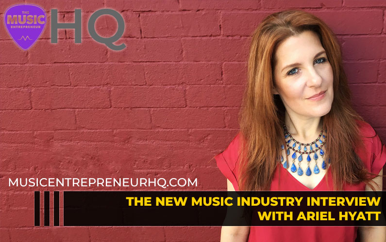 148 – How to Get Media Coverage as a Musician – with Ariel Hyatt with Cyber PR