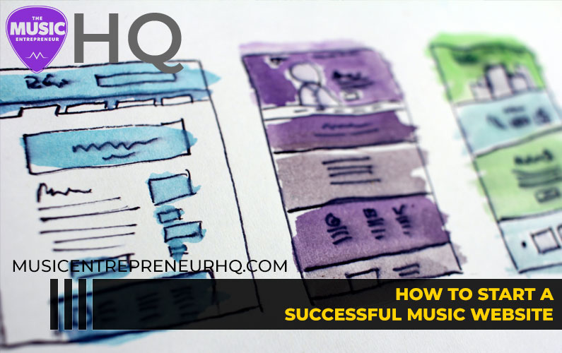 How to Start a Successful Music Website