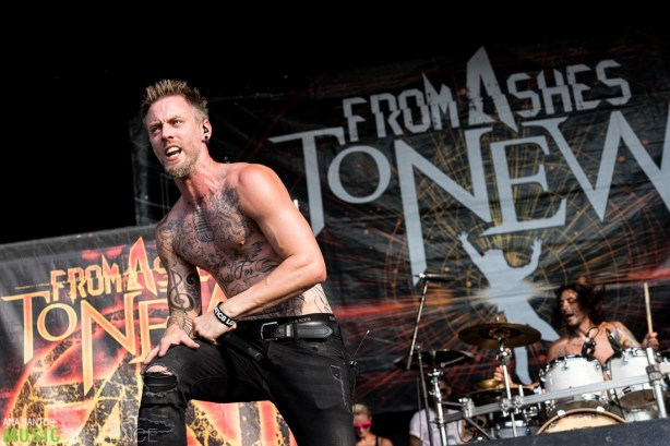 From Ashes to New || Warped Tour 2016, Holmdel NJ 07.17.16