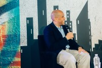Cory Booker at OZY Fusion Festival 2016 by Coen Rees