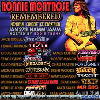 Ronnie Montrose Remembered January 27th, 2018