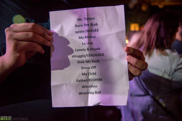 Le Butcherettes at Knitting Factory setlist