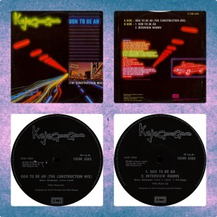 Ooh To Be Ah (The Construction Mix) 6:37- B1 / Ooh To Be Ah (Single Version) 3:34 - B2 / Interview Rooms