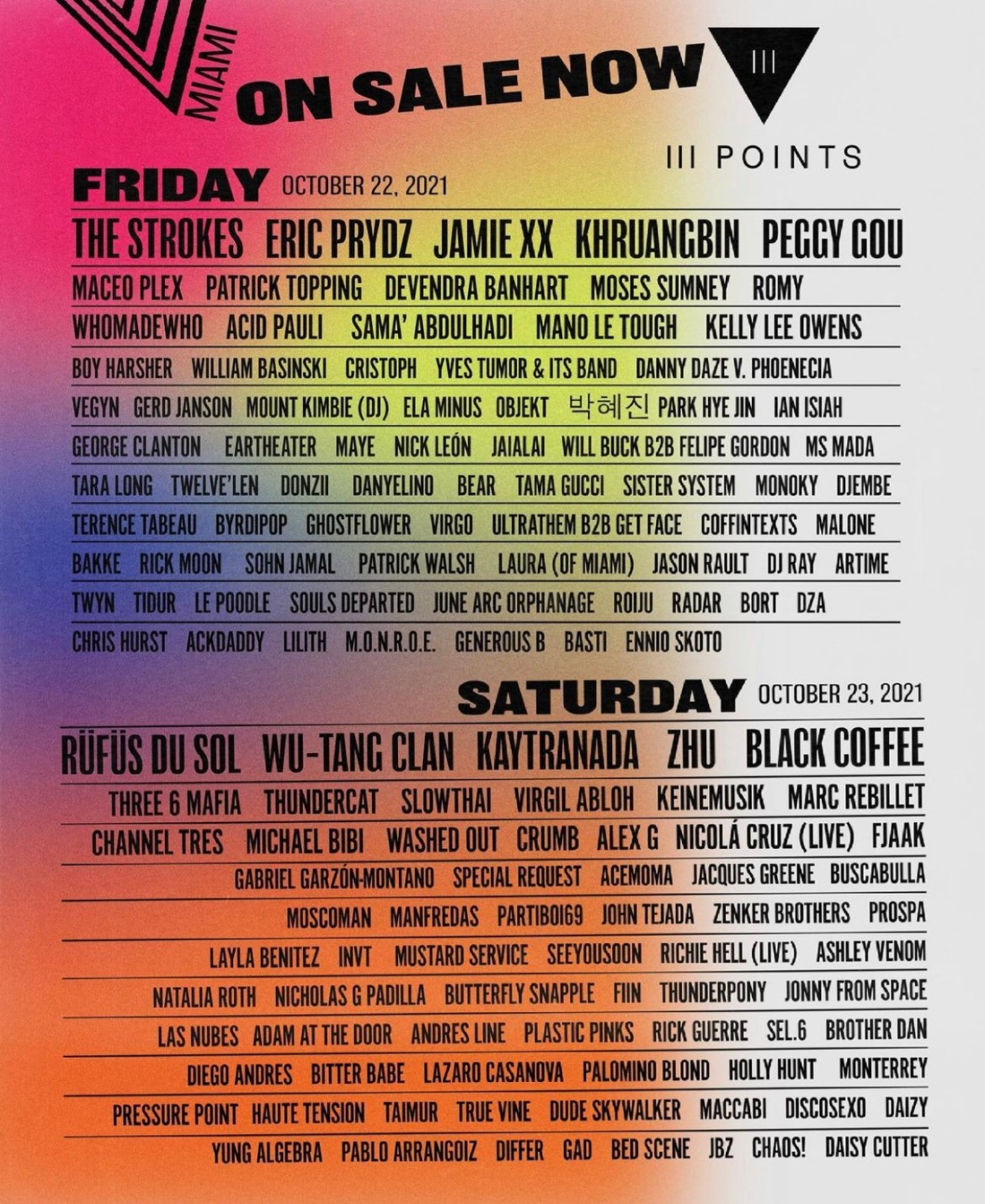 iiiPoints Coming to MIAMI this October