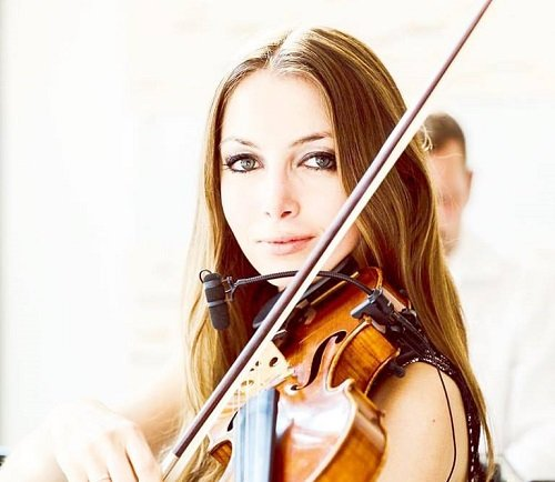 Solo Female Violinist For Events - Music for Asia