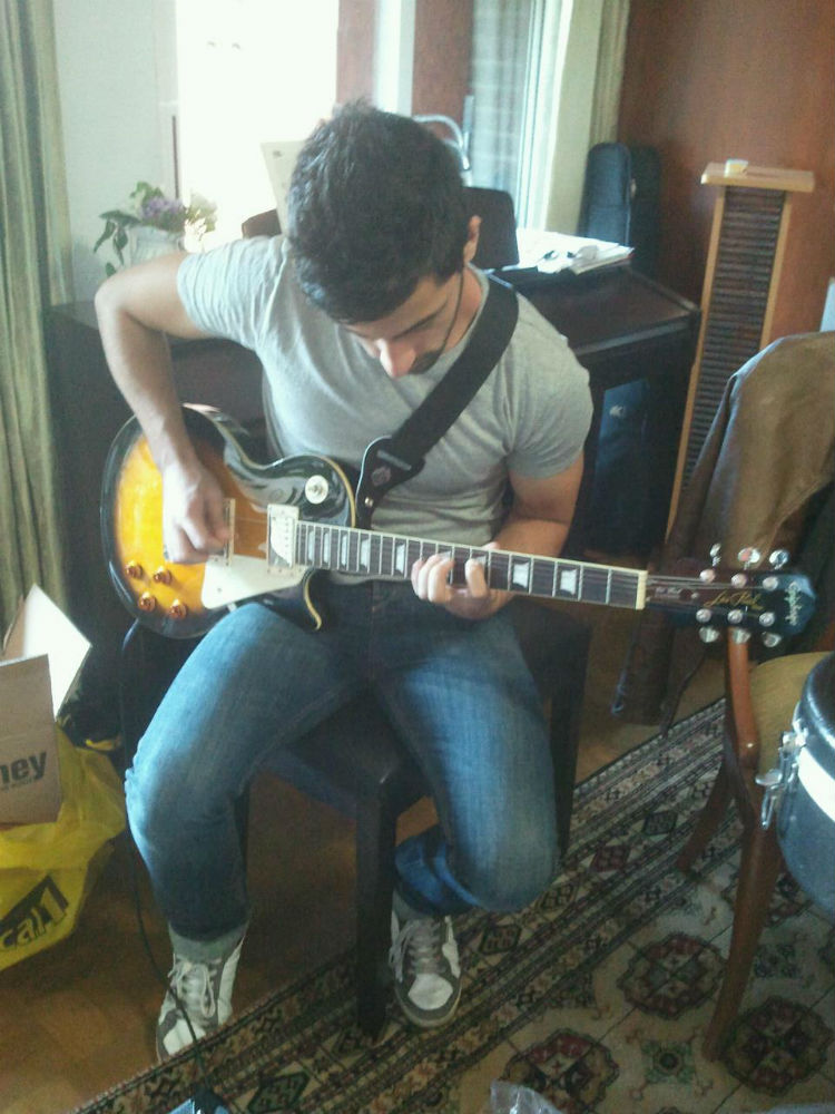 Guitar session