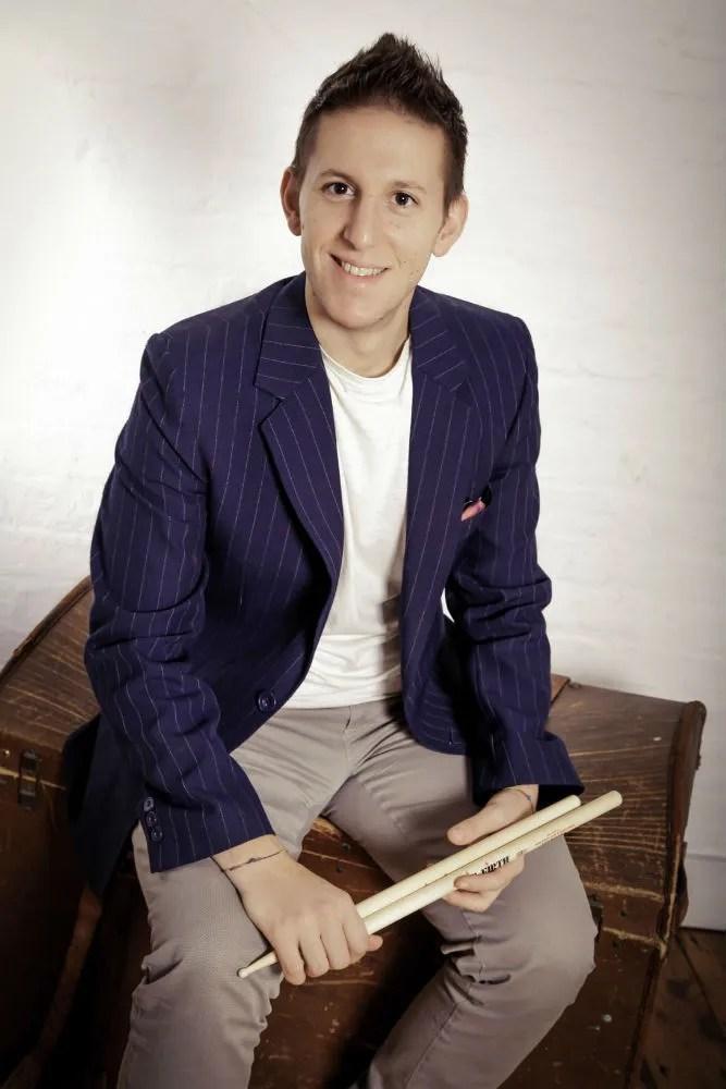 Stefano Magini, drummer, teacher, session.