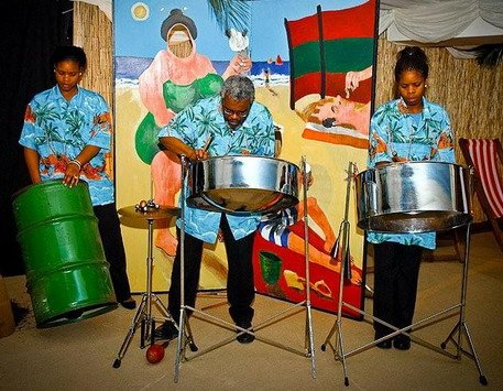caribbebeachparty - carribe steel band