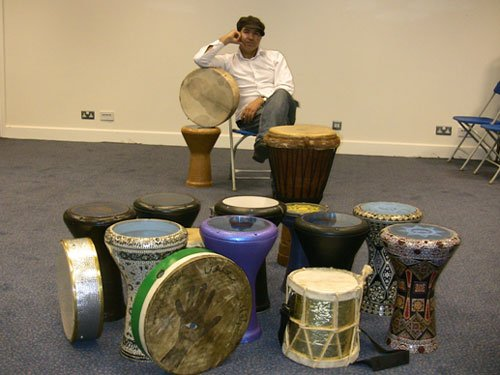 Middle Eastern Drummers