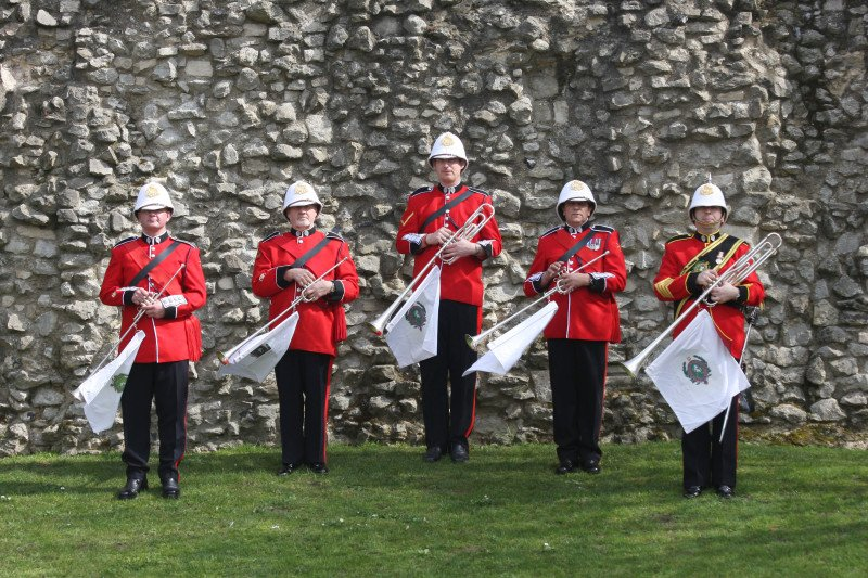 Hire Army Royal Themed Fanfare Trumpeters