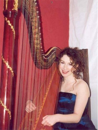 Harpist edinburgh wedding dress