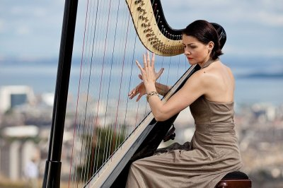 Alina - Solo Wedding Harpist in London - Music for London
