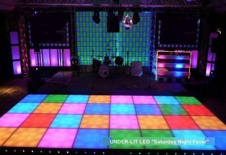 Underlit Dance Floor