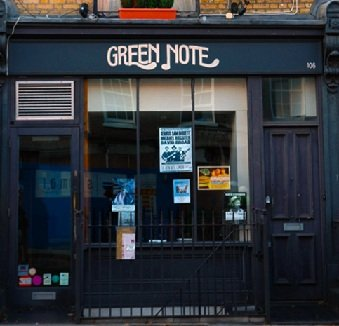 Green Note In Camden Town