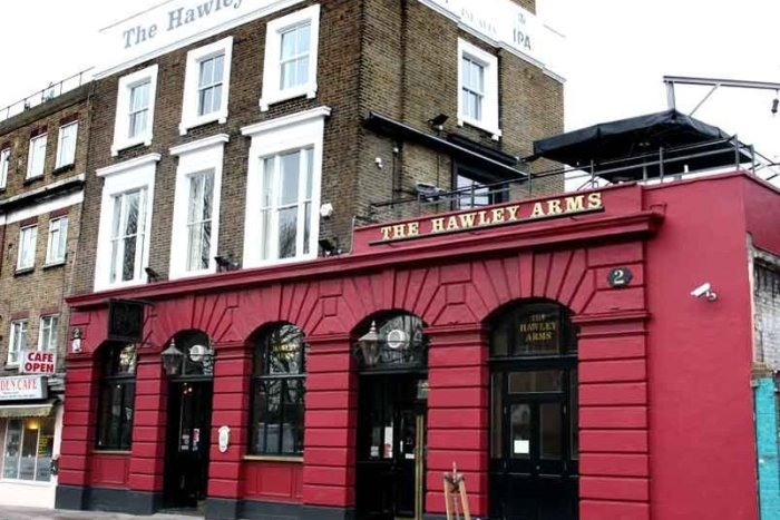 The Hawley Arms In Camden