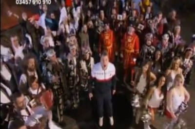 MFL Military Brass Band - Red Nose Day - BBC Comic Relief
