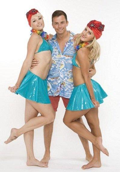Hula Themed Dancers