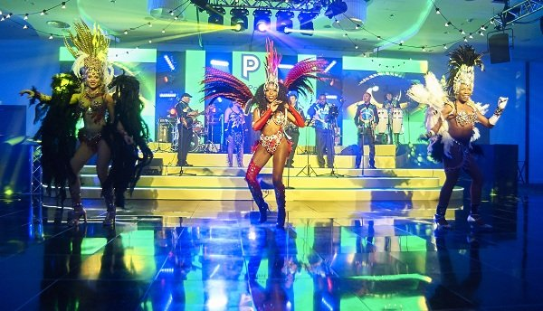 Brazilian Show Band Dancers