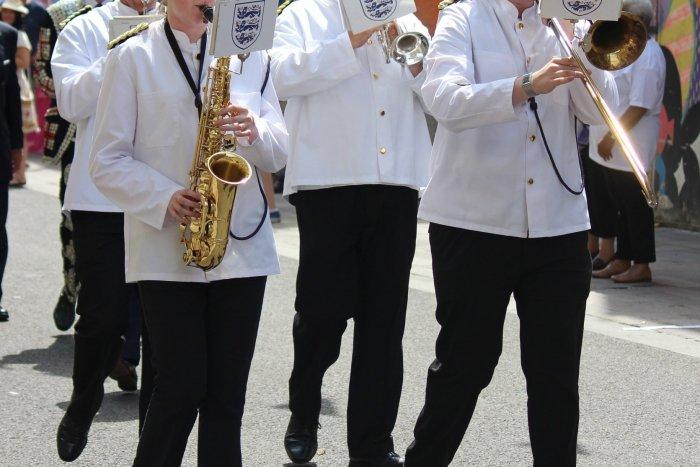 Military-Band-White-Uniforms