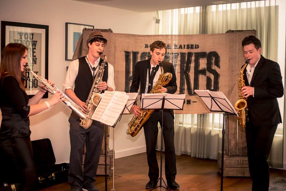 Brass Band Saxophone Quartet