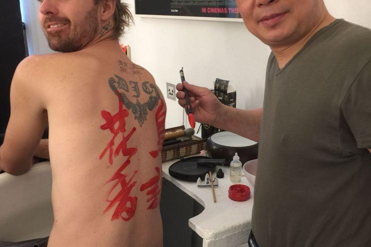 Chinese-Calligraphers-Hire-UK