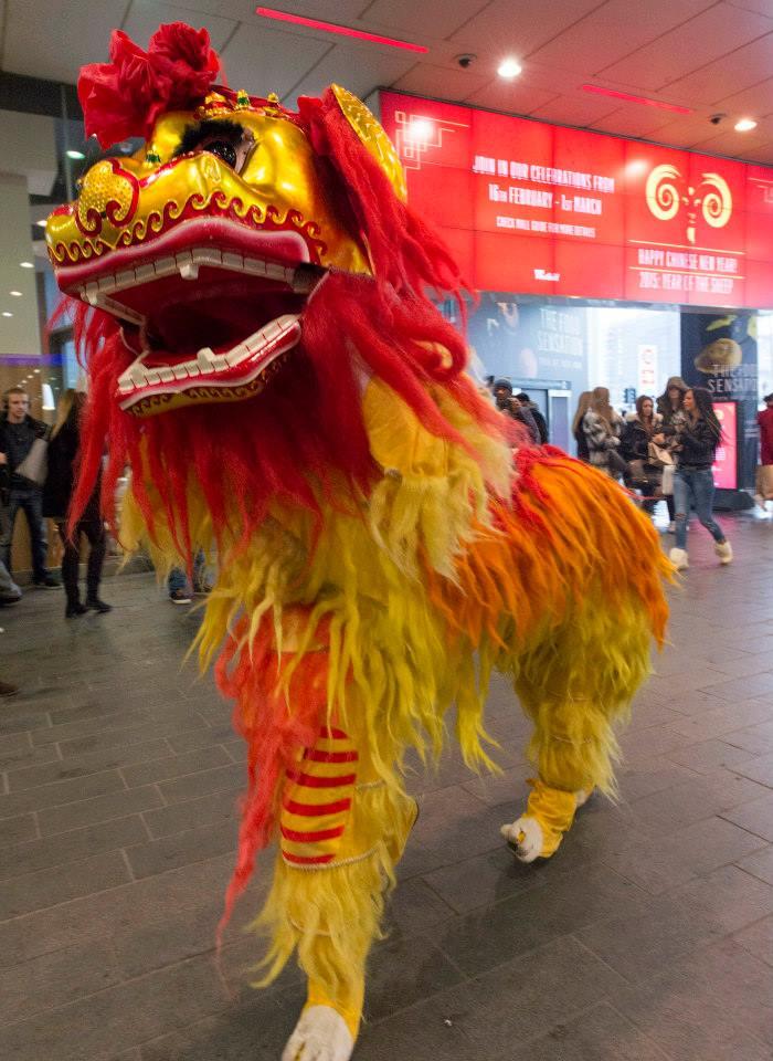 Guan Yin Lion Rising