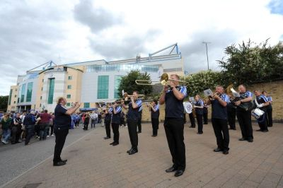 Chelsea FC Brass Band - May 2015 Final Weekend