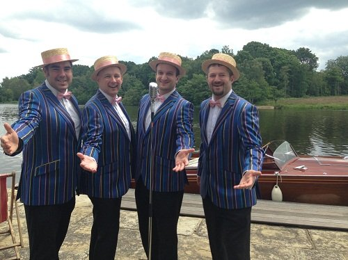 Barbershop Quartet for Parties, Launches & Events