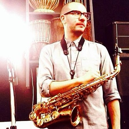 Solo Jazz Saxophonist